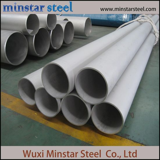 Large Diameter 316 316L Welded Stainless Steel Pipe for Fluid Transportation