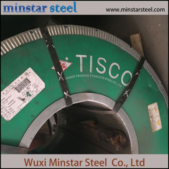 AISI 441 430 Cold Rolled Ferritic Stainless Steel Sheet TISCO Brand