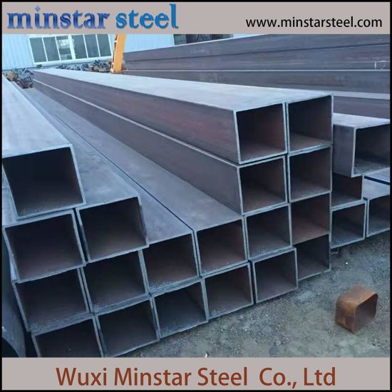 ASTM Square Steel Tube 100mmX100mm Welded Steel Tube Size