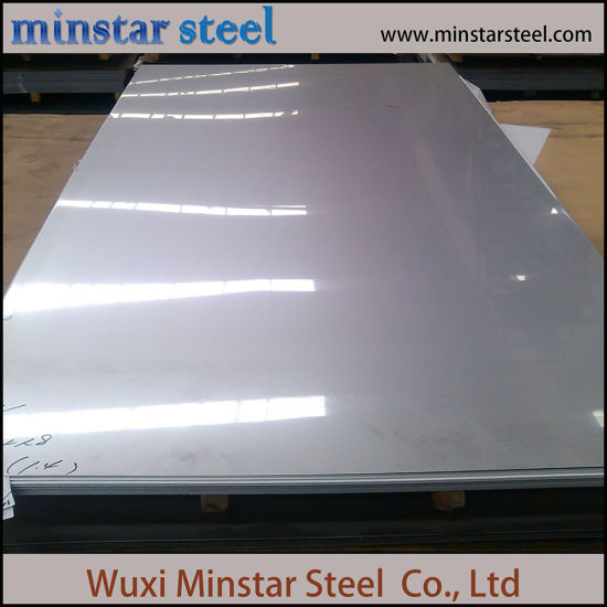 1.5mm 1.2mm Thickness AISI 201 Stainless Steel Plate 2B No.4 Hairline Surface