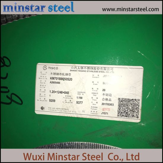 Hot Selling 4 Feet Width 410 420 430 Stainless Steel Sheet for Kitchenware