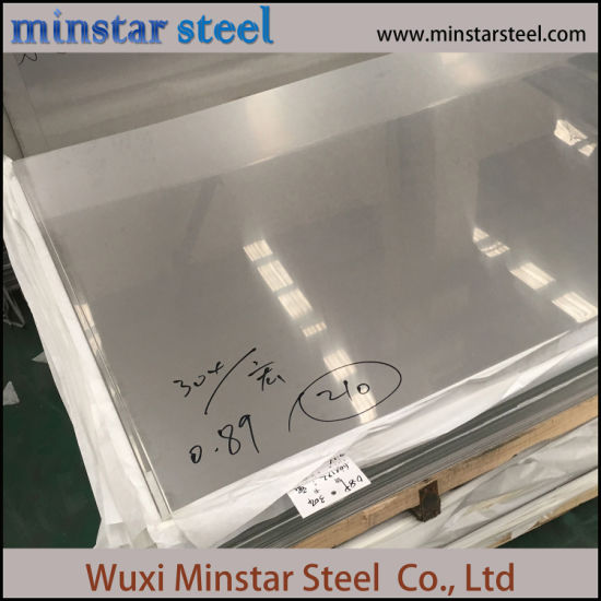 AISI 304 Austenitic Stainless Steel Sheet 2mm 2.5mm 3.0mm Thick