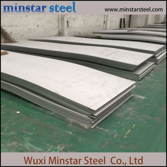 Hot Rolled No.1 Finish 321 Stainless Steel Sheet 5mm Thickness
