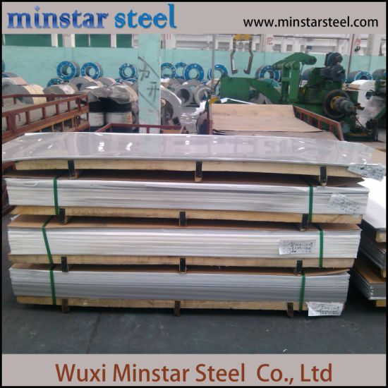 2mm Thick Cold Rolled BA Surface Stainless Steel Sheet with PE Film