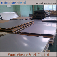 Decoration 4X8 5X10 2B Hairline No.4 Surface Stainless Stee Plate for Hotel/Home/Office