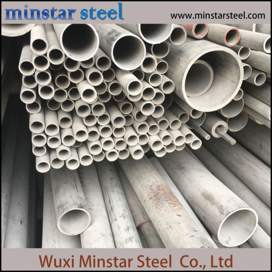SUS304 Stainless Steel Pipe Price Per Kg Seamless Pipe Fitting PVC